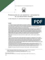 Farmacologia de Los Agonistas y Antagonistas de Los Receptores Opiodes
