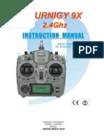 Manual Turnigy 9x Pt