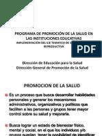 Programa de Instituciones Educativas