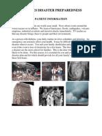 Diabetes Disaster Guidelines