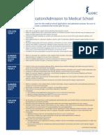 MCAT applicant timeline