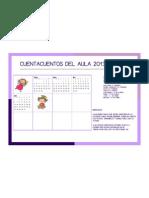 Calendario Cuentacuentos Del Aula