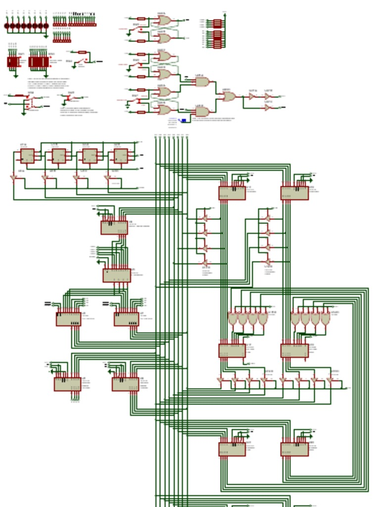SAP-1 Simple as Possible Computer Schematic Diagram | Electronic Circuits |  Digital TechnologyScribd
