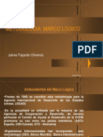 Marco Logico Gobernacion.