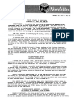 Citizens Committee to Save Elysian Park - Newsletter Number 062 - January 20, 1975