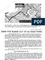 Citizens Committee to Save Elysian Park - Newsletter Number 080 - July 21, 1979