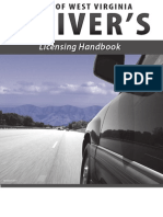 West Virginia-Driver's Licensing Handbook 2013