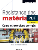 Resistance Des Materiaux Cours Et Exercices Corriges