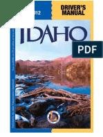 Idaho Driver's Manual -2013