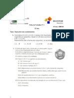 Ficha 1 - introdução a probabilidades