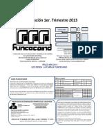 Programación 1º Trimestre 2013. Funcecaind
