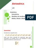 17 - Nocoes de Estatistica