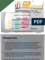 Tv Eduacativa Juan Pablo Garces