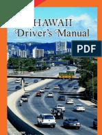 Hawaii Drivers Manual - 2013