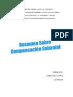 RESUMEN COMPENSACION SALARIAL