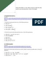 Erasmus Students - Matemathics