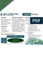 Dagi Consulting Capability