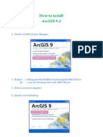 How to Install ArcGIS 9.2