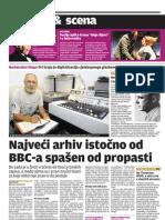 Kako je Drago Mlinarec spasio fonoteku Croatia Recordsa
