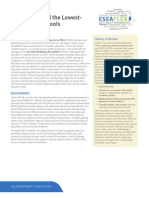 USDOE ESEA Flexibility Overview on Turn Around