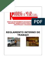 Reglamento Interno de Trabajo r&m