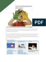 Intervención psicopedagógica alumnos especiales