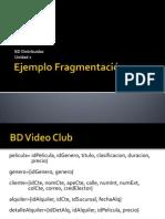 2.1 Ejemplo Fragmentación