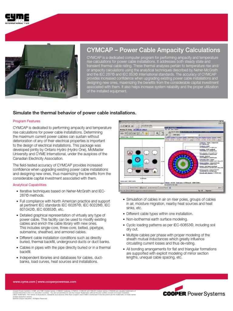 CYMCAP | Electrical Engineering | Electromagnetism