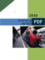 Plan de Area de Matematicas 2011