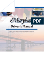 Maryland Driver's Manual - 2013