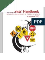 Wisconsin Motorists Handbook 2012-2013