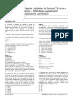 Prova comentada (SIGA resolve) - Agente Legislativo de Serviços Técnicos e Administrativos/ SP.pdf