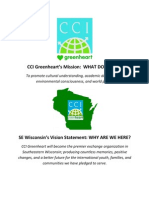 Our SE Wisconsin Vision Statement