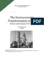 The Socioeconomic Transformation of Iran