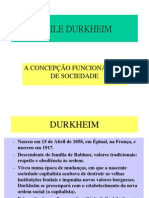 Mile Durkheim
