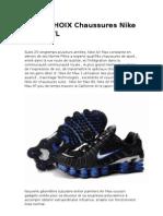 HAGO CHOIX Nike Shox Tl
