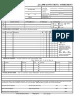 alarm monitoring info sheet