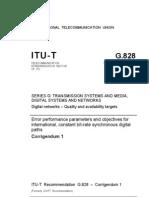 ITU-R G.828