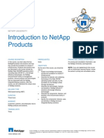 Netapp course requirements