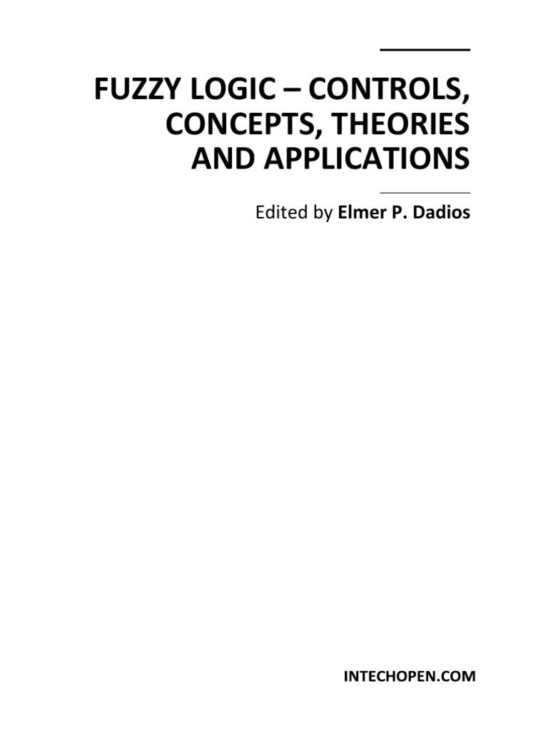 fuzzy logic controls concepts theories and applications rh es scribd com