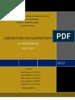 Informe 3 de Laboratorio de Electrotecnia