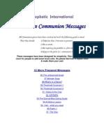 Communion Messages