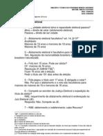 12.03.03 - Semestral Analista Dos Triunais Dir Eleitoral Ronaldo