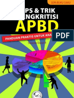 Buku Tips dan Trik Mengkritisi APBD (Anggaran Pendapatan Belanja Daerah)