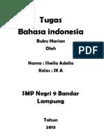 Tugas Bahasa Indonesia Sheila Adelia