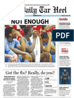 The Daily Tar Heel for January 28, 2013