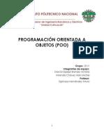 Programación Orientada a Objetos IPN