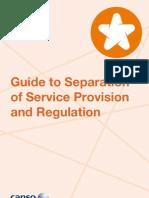 Separation ANSP Regulation
