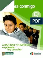 Piensa Conmigo 5to Primaria Tamaulipas 2012 2013