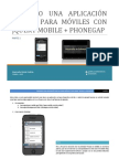 Creando una aplicación multiplataforma para móviles con jquery y phonegap -  parte 1
